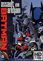 Batman: Ataque a Arkham (2014) BRrip 720p Latino-Ingles