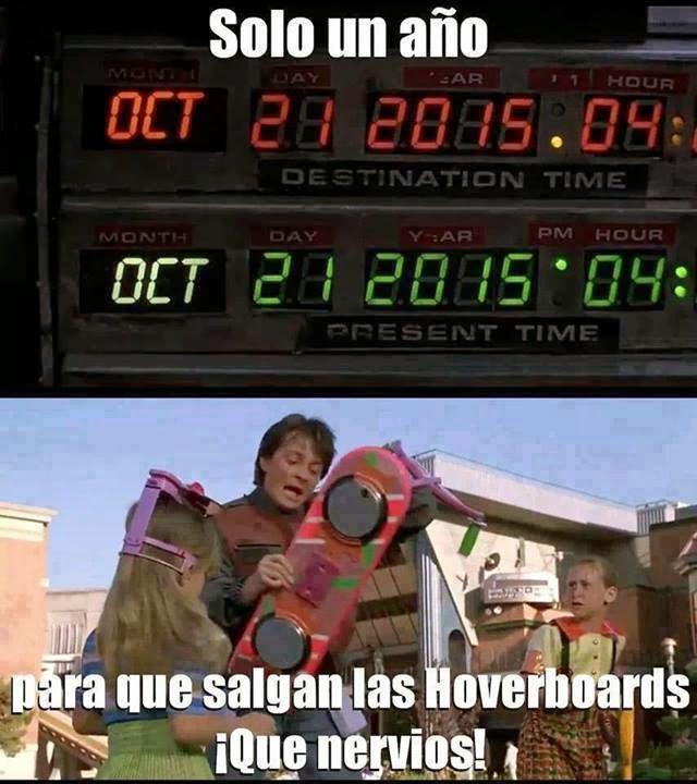 Tan solo falta un año para las Hoverboards