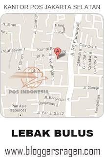 Foto kantor pos Jakartaselatan