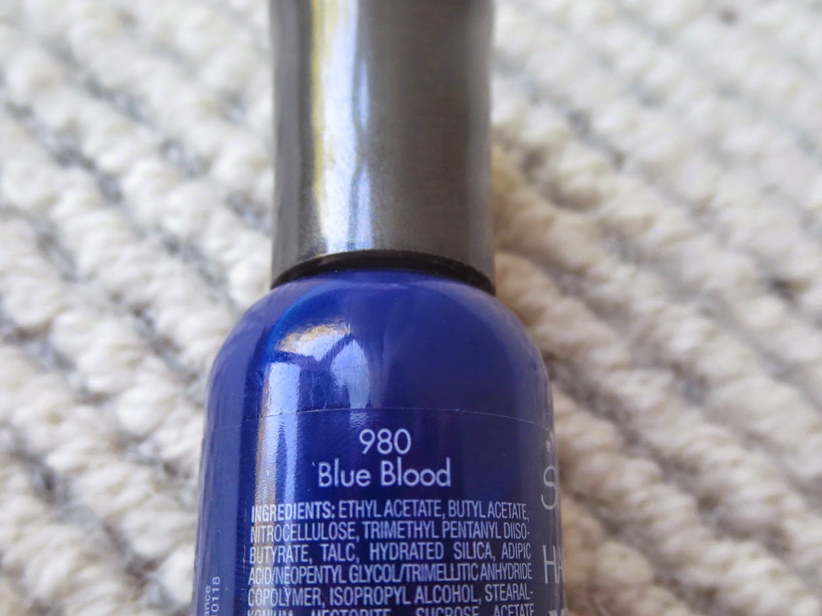 a picture of Sally Hansen Xtream Wear Matte Effect in Blue Blood