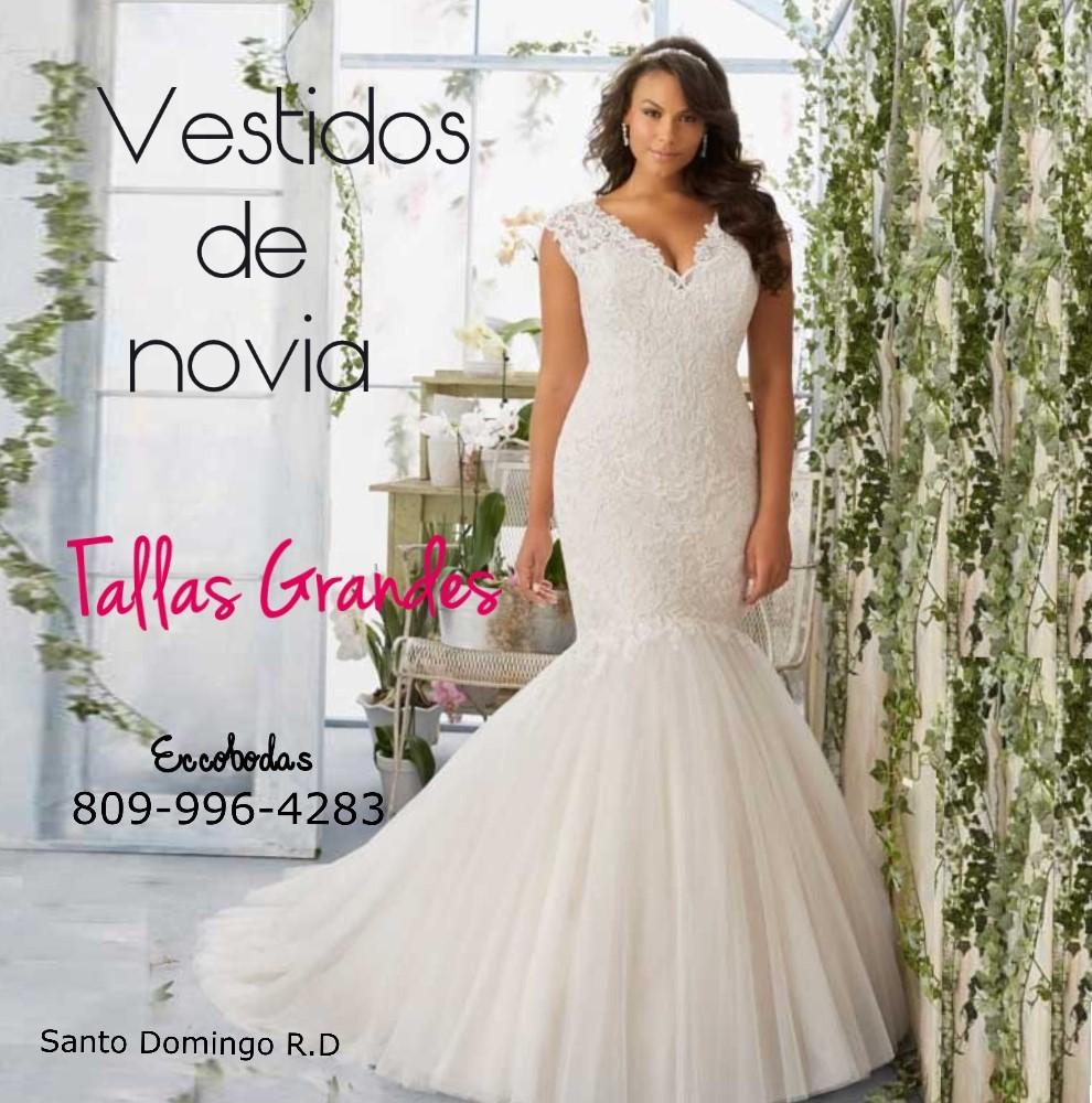 Vestidos de novia tallas xl