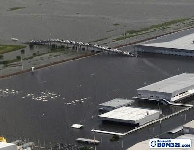 Gambar Kilang Honda Di Thailand Ditenggelami Banjir