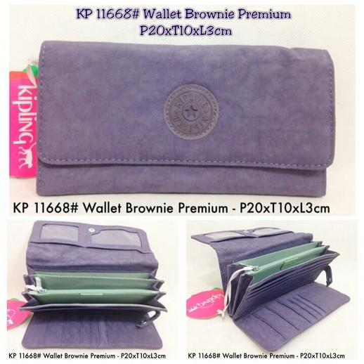 Dompet Kipling kw premium   11668 (brownie) 0403073030