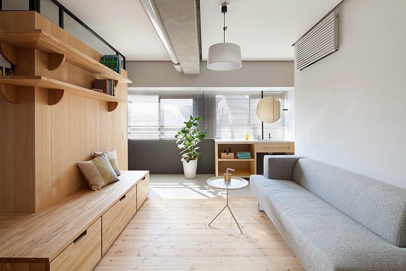Marzua: un mueble que crea y divide espacios, por el estudio ...