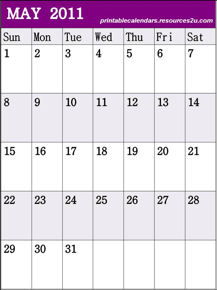 may calendar 2011 blank. lank calendar 2011 may. Free Blank Planner May 2011