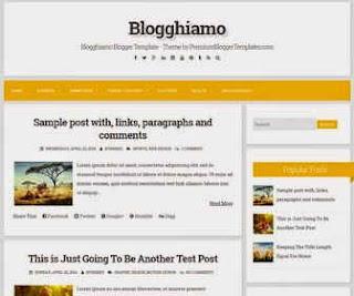 Blogghiamo responsive blogger template