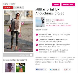 Anouckinha´s Closet en la revista Marie Claire