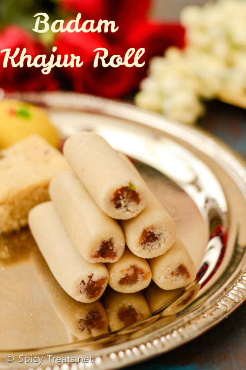 Badam Dryfruit Roll