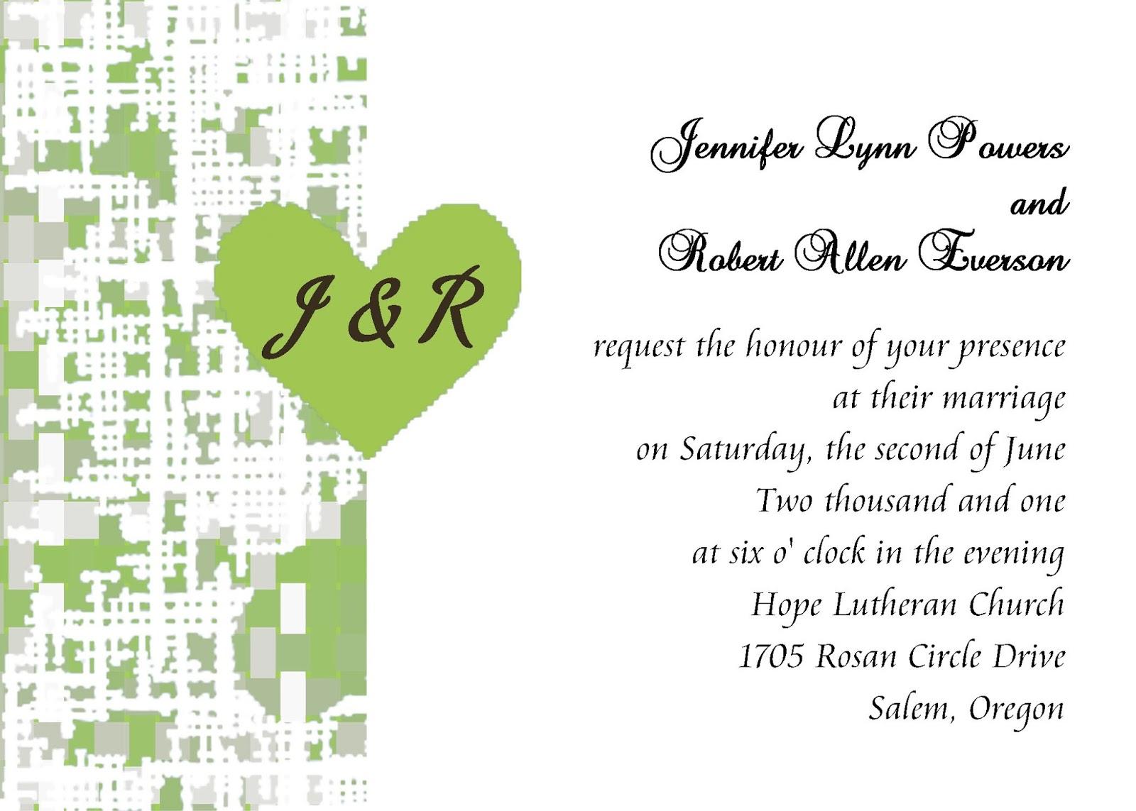 Proper Wedding Gift Message : black wedding invitations: wedding invitation etiquette