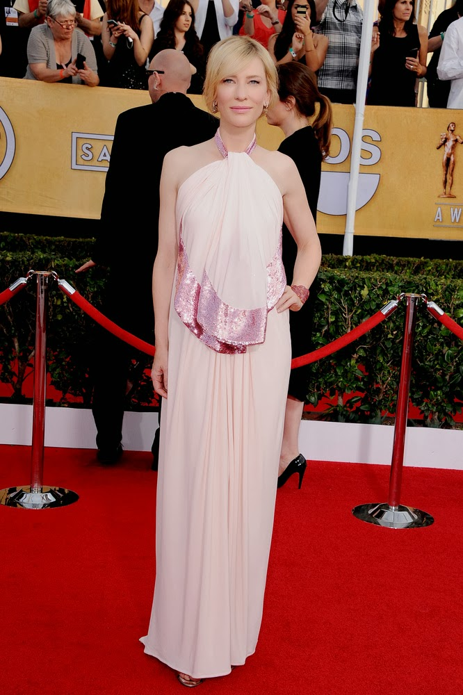 Cate Blanchett in Givenchy at the SAG awards.