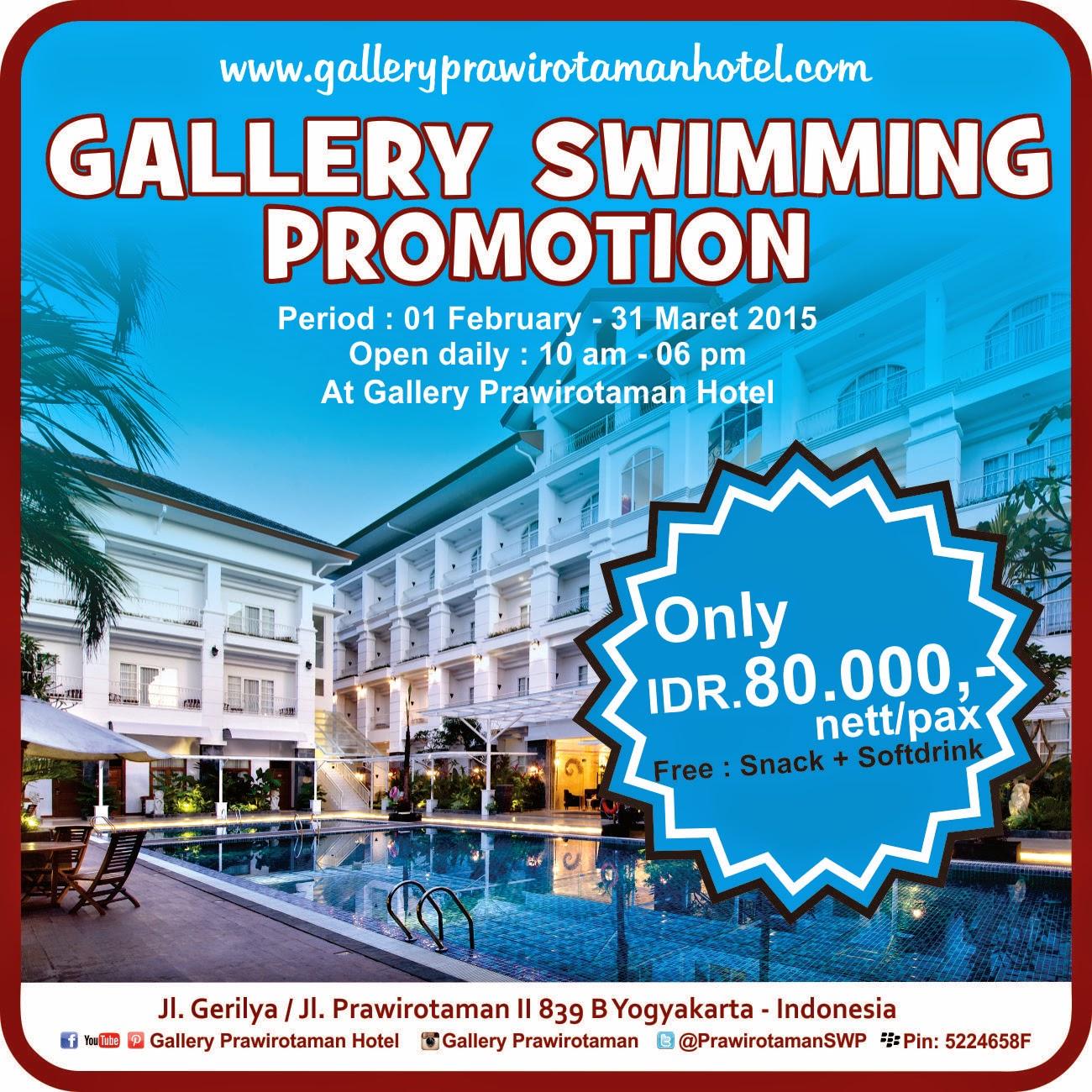 Promo Swimming Promtion Jogja Yogyakarta Flyer