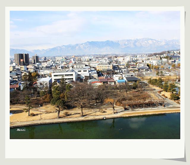 北陸-名古屋 松本城 城上