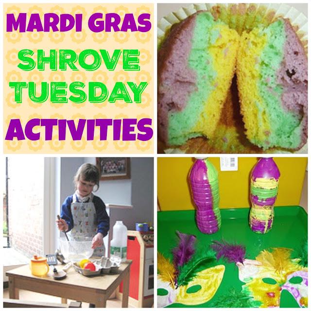 Mardi Gras and Shrove Tuesday Activities.