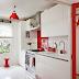 Red and White Ideas for your House & Kırmızı - Beyaz Fikirler