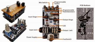 Pedal de guitarra com Arduino