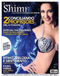 ;) Sou capa da revista Shimmie !!