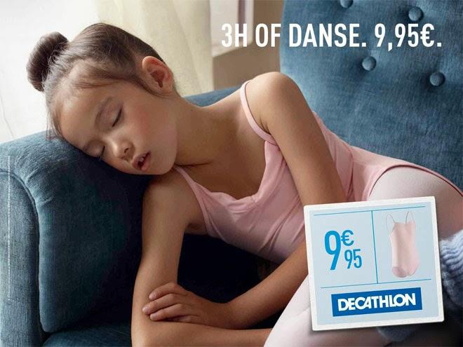 Decathlon niños cansados danza