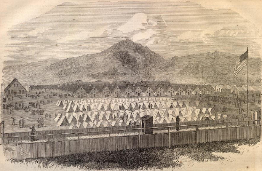 a history of andersonville and elmira prisons during the civil war Elmira prisoner of war camp: the north's answer to andersonville  elmira and its civil war prison  a history of the military prison at elmira,.