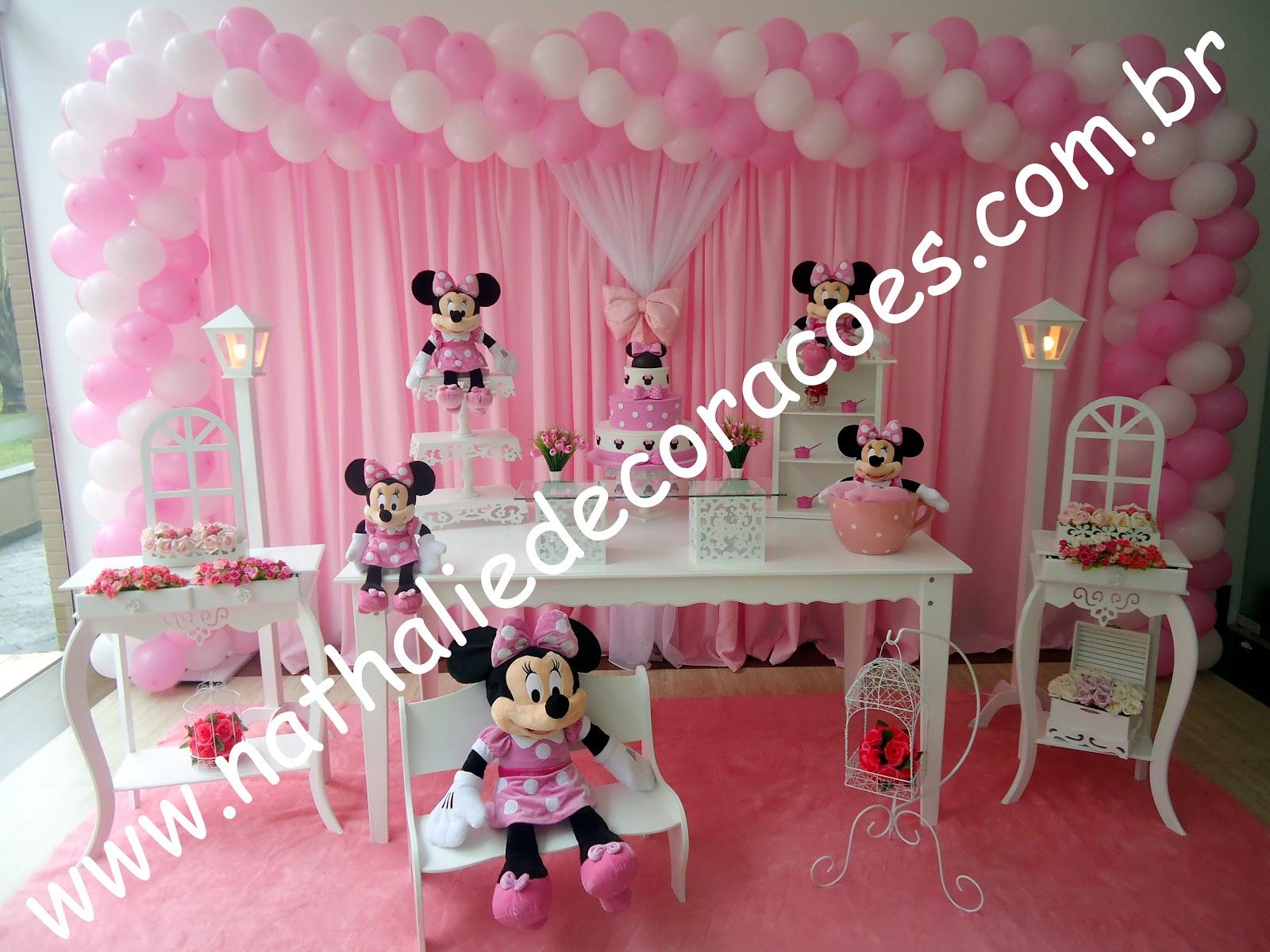 decoracao festa minnie rosa : decoracao festa minnie rosa:MINNIE ROSA SIMPLES