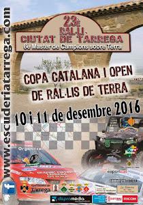 NEXT EVENTS: 23 Rally Ciutat de Tarrega