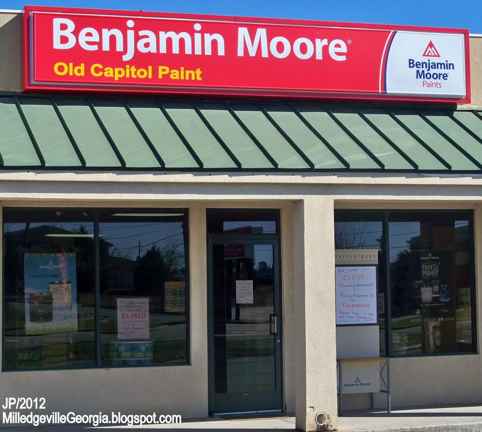 paint benjamin moore paints store baldwin county milledgeville ga