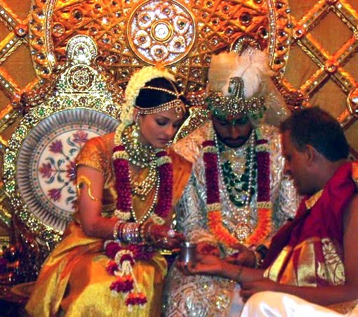 Image result for aishwarya rai wedding photos