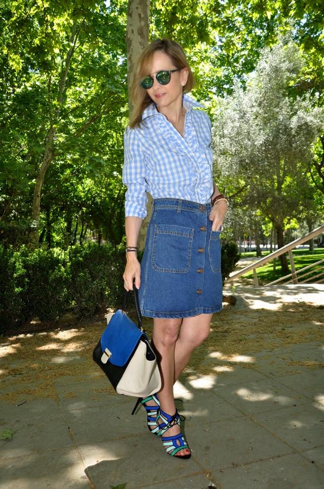 how to wear gingham como llevar vichy