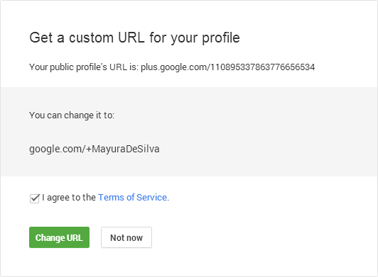 How to Claim Your Custom URL in Google+