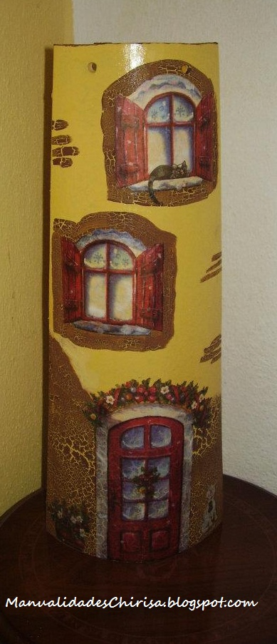 Tejas decoradas manualidades chirisa - Pintura para tejas ...