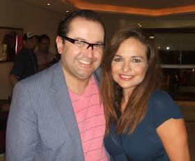 Antonio Carlos Gomes e Luiza Tomé