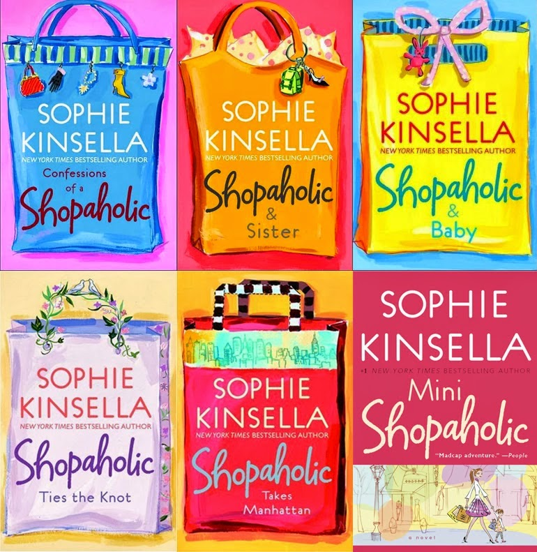 http://www.barnesandnoble.com/s/shopaholic-series?store=allproducts&keyword=shopaholic+series