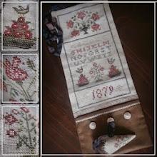 """""""Flowers, 1879"""" Sampler"""