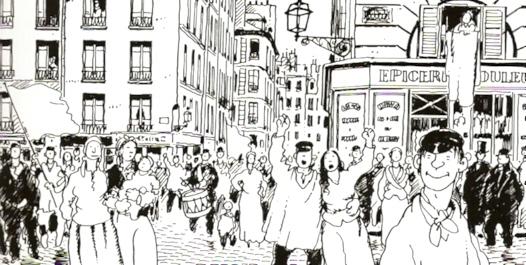 paris celebra el triunfo de la comuna