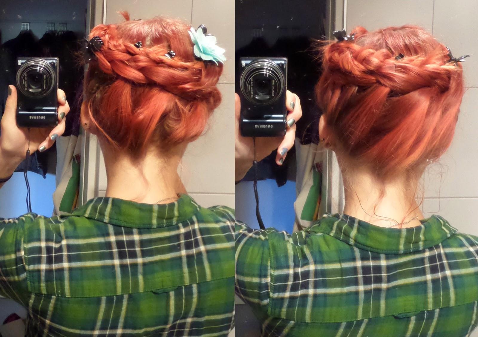 [Mädchenkram] Haare - Sonntagsfrisur #7