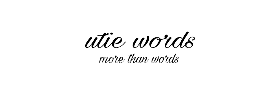 utie  words