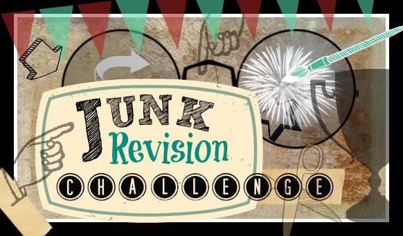 Vintage Paint and more... Junk Revision Challenge