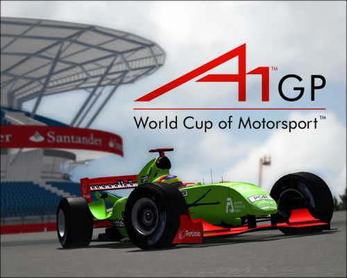 rFactor F1 A1GP 2008-2009