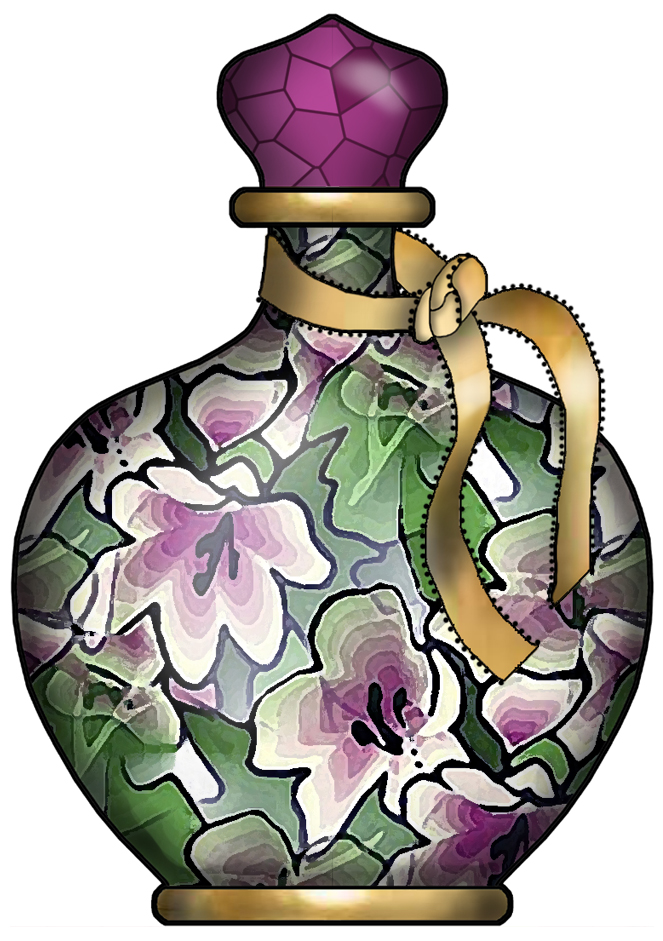 ArtbyJean - Paper Crafts: PRETTY PERFUME BOTTLES - CRAFTY ...