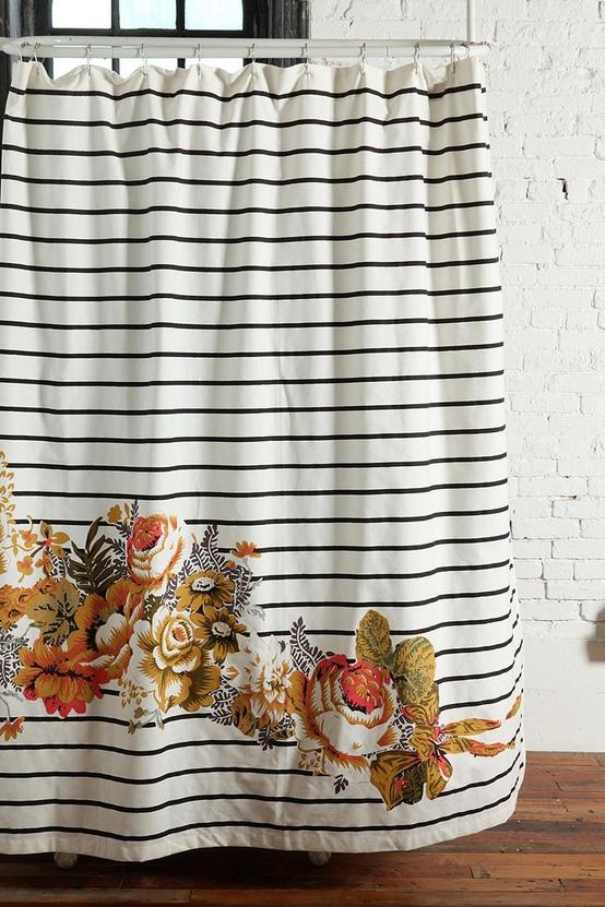 Online Window Shopping: Shower Curtains   Little House Design