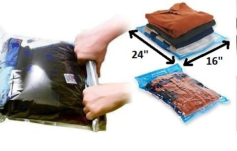 That means you donu0027t have to carry a pump to seal and vacuum the air out of your bags. They will not leak and will keep your clothes nice and fresh .  sc 1 st  Popular Product Reviews by Amy & Popular Product Reviews by Amy: Space Saver Travel Roll-Up Storage ...