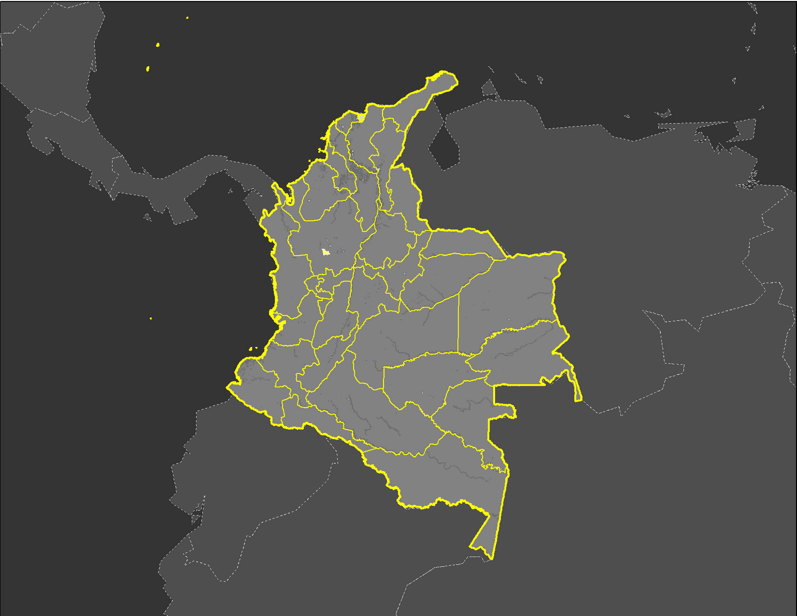figure 2 colombia political distribution