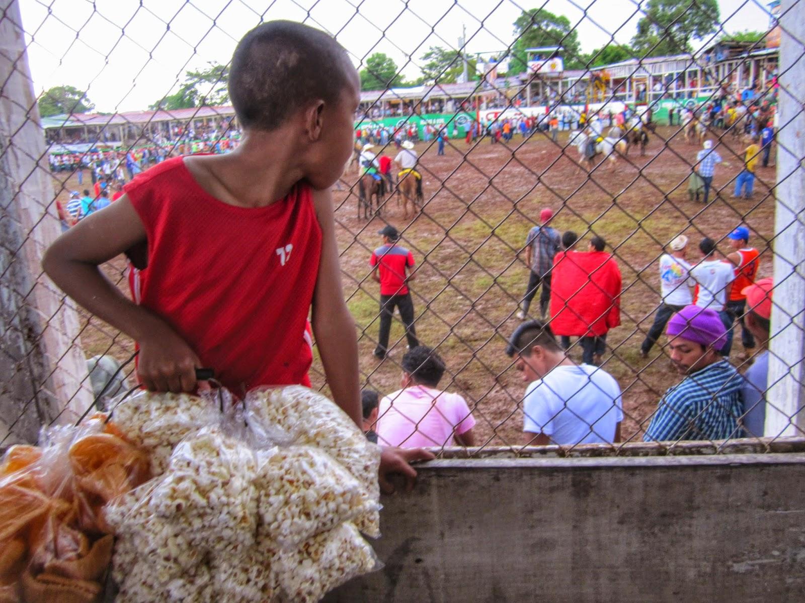Vendedor en rodeo de Juigalpa