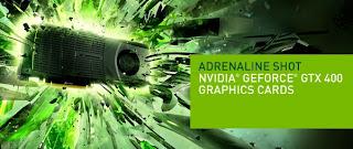 GPU NVIDIA GeForce GTX 400 Series Kode GF100