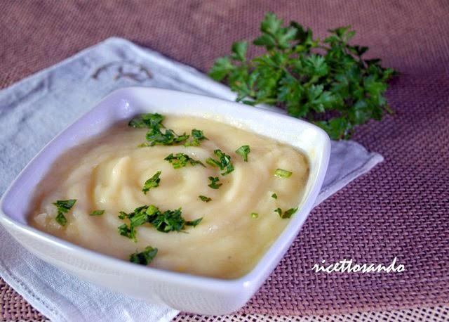 Cremé parmentier ovvero crema di patate ricetta di vellutata
