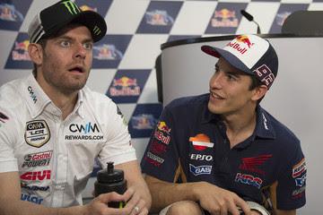 Crutchlow Berharap Tak Ada Pembalap Junior yang Ikut-ikutan Seperti Marquez