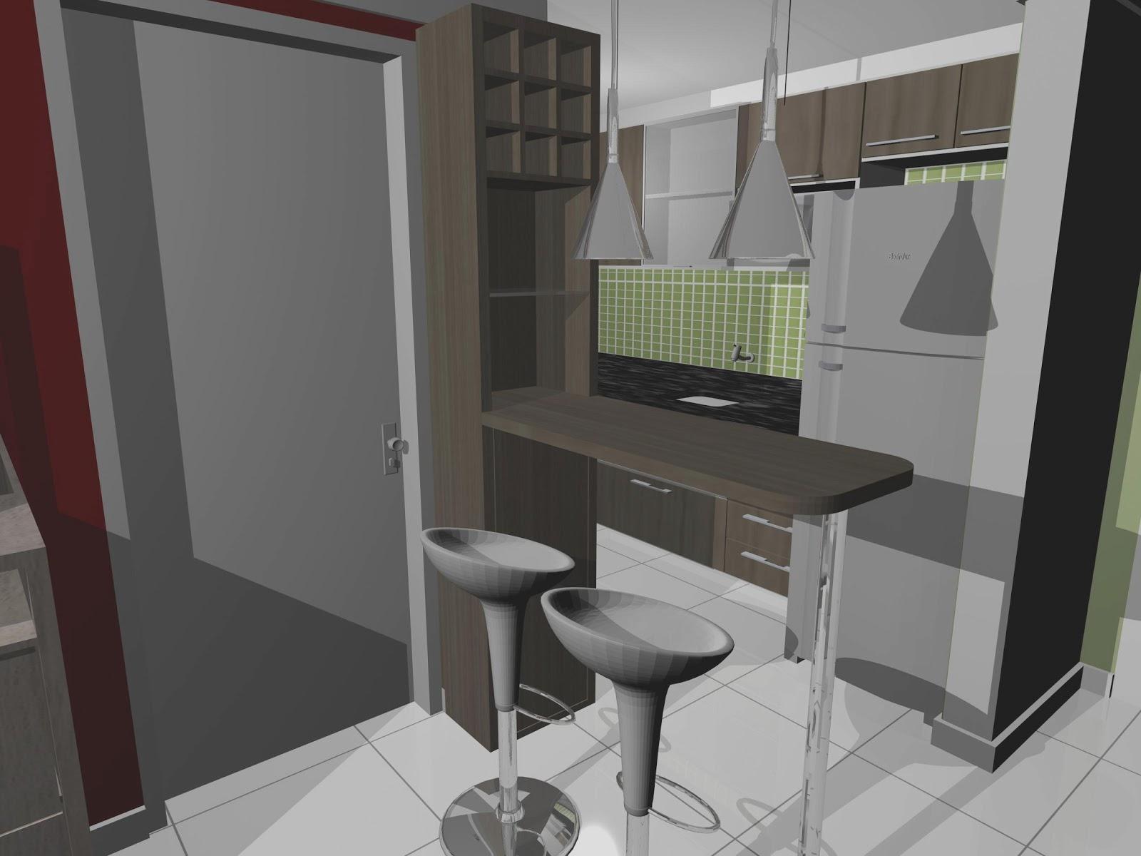 Compacto Essencial: Projeto apartamento compacto para casal e 1  #6C7457 1600 1200