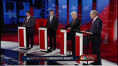 Republican Debate NBC News Tampa Florida 01/23/12 FULL DEBATE VIDEO