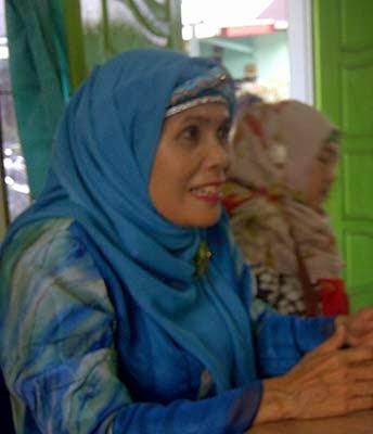 perwakilan ibu-ibu muslimat nu tapsel