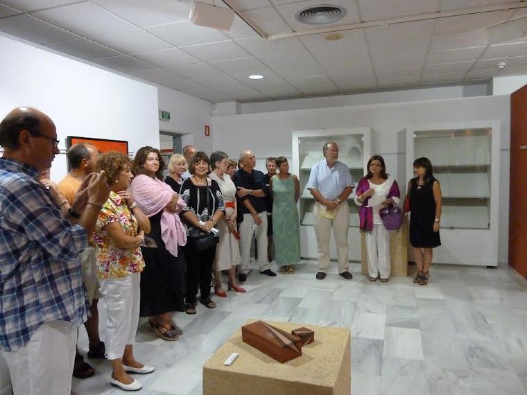 PRESENTACION EXPOSICION DE LA CASA DE CULTURA E CALPE