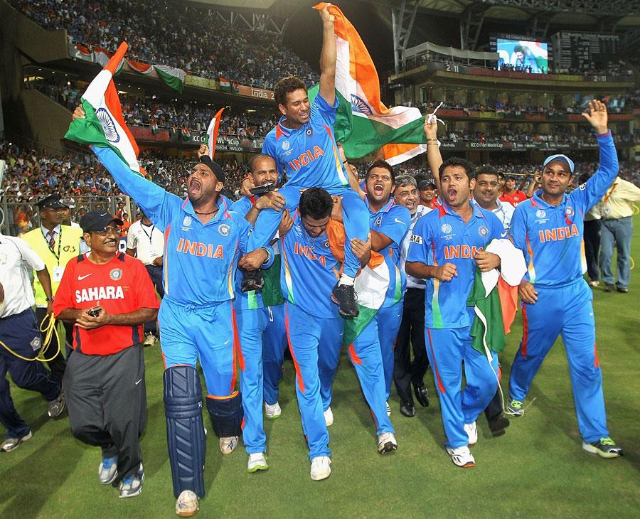 final world cup cricket 2011 photos. winning by runs World